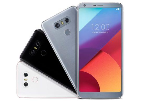 LG G6 Officiel Avant Arriere