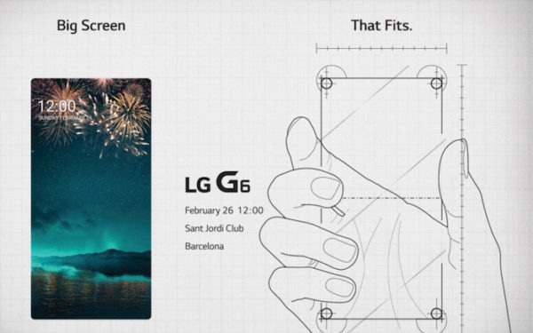 LG Invitation G6 26 Fevrier 2017 600x375