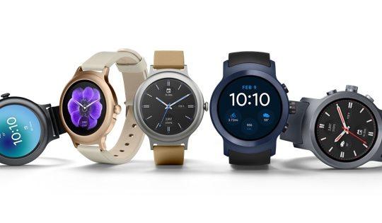 LG Watch Style et LG Watch Sport Officiel 2