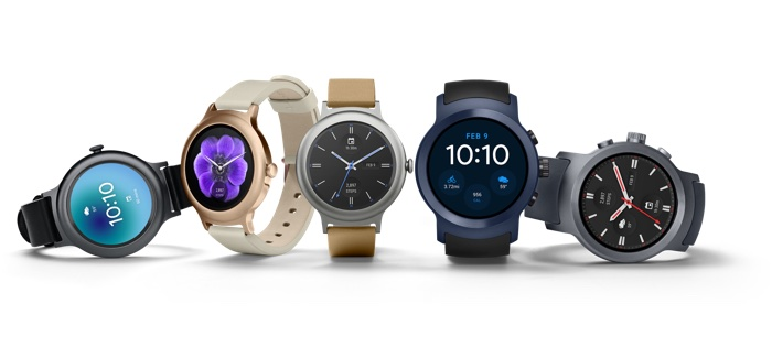 LG Watch Style Et LG Watch Sport Officiel 2
