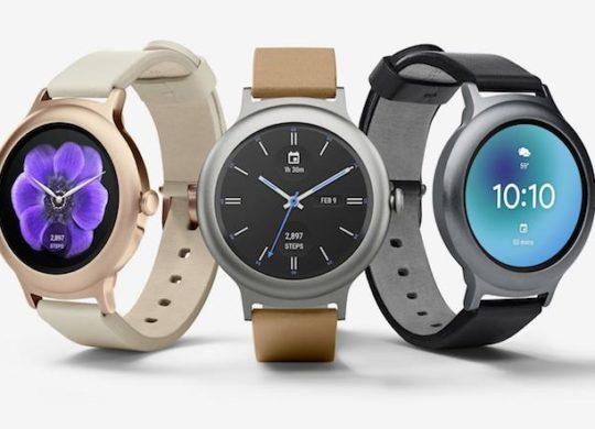 LG Watch Style et LG Watch Sport Officiel