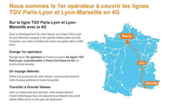 Orange 4G TGV Paris Marseille 600x366