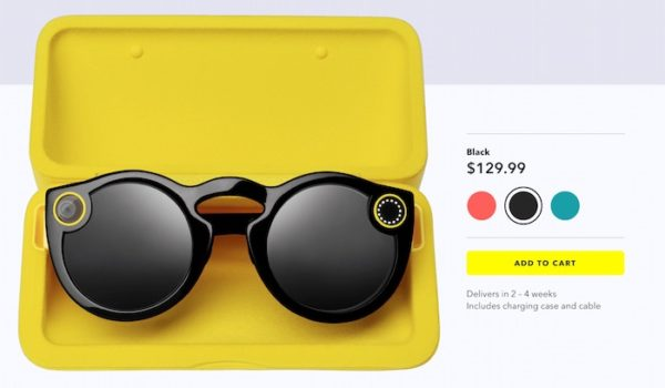 Snapchat Spectacles Disponibles Internet 600x350