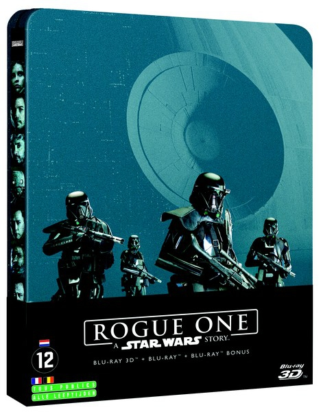 Star Wars Rogue One Jaquette Blu Ray 3D France