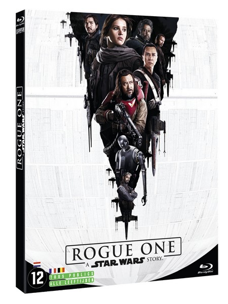Star Wars Rogue One Jaquette Blu Ray France