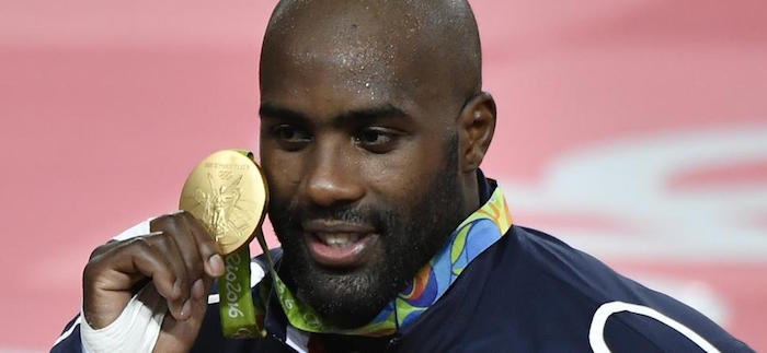 Teddy Riner Medaille Or Jeux Olympiques 2016