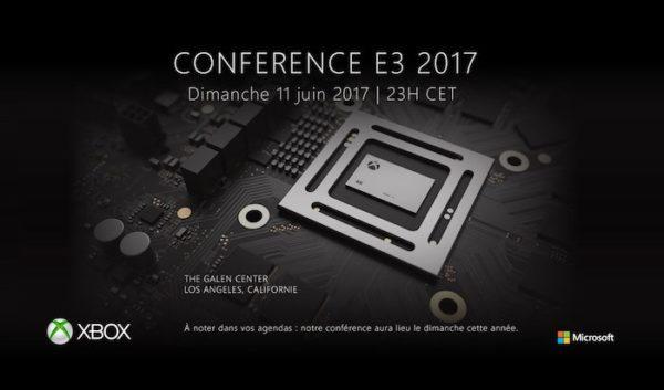 Xbox Scorpio Conference 11 Juin 2017 E3 600x353