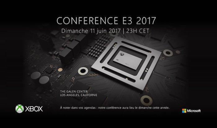 Xbox Scorpio Conference 11 Juin 2017 E3