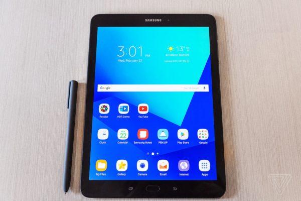 Galaxy Tab S3 600x400