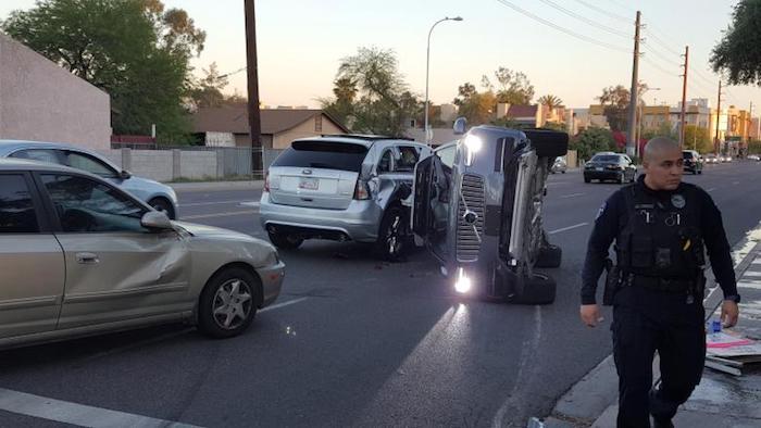 Accident Voiture Autonome Uber