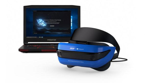 Acer Windows Mixed Reality Development Edition Headset 600x337
