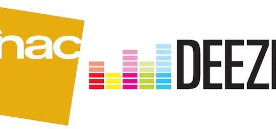 Fnac Deezer Logos