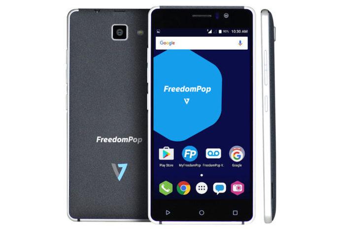 FreddomPop V7 Smartphone