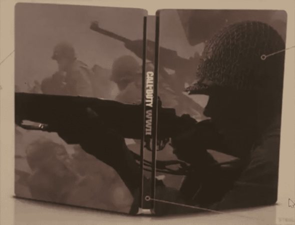 Fuite Call Of Duty WWII Steelbook 589x450