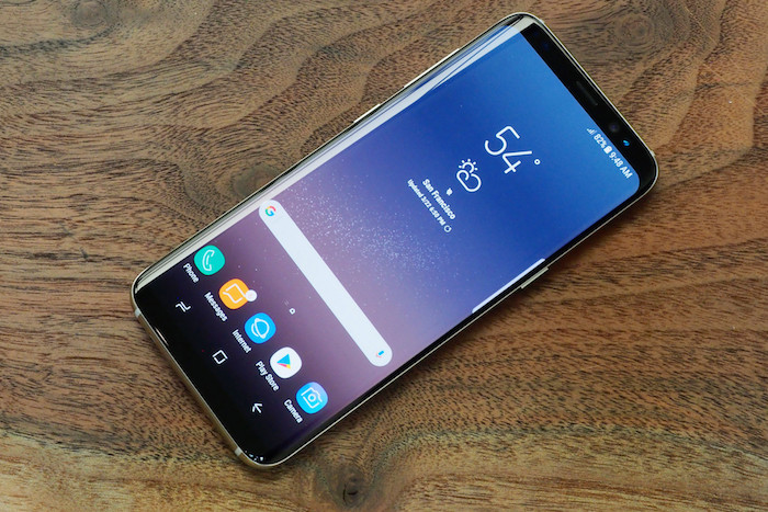 Galaxy S8 Avant Officiel 1