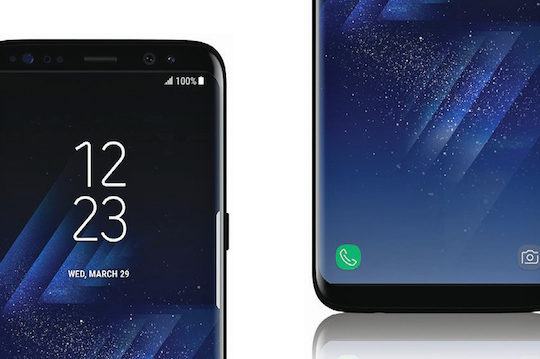 Galaxy S8 Avant Officiel 2