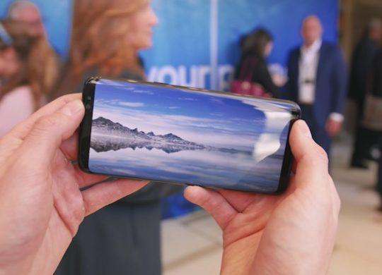 Galaxy S8 Mode Paysage Video