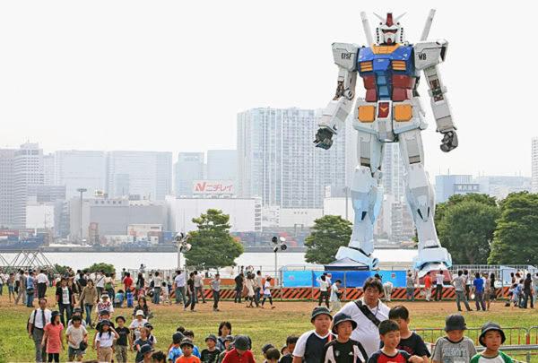Gundam Tokyo 600x405