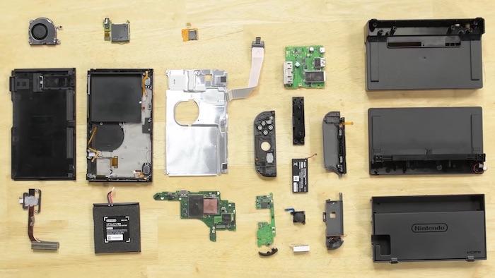 Nintendo Switch Demontage 1