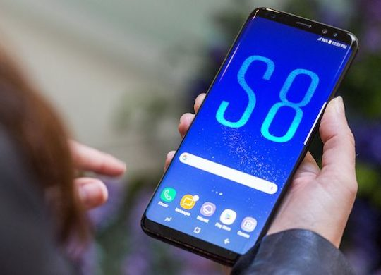 Samsung Galaxy S8 Avant Officiel