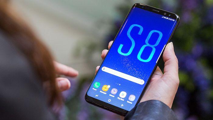 Samsung Galaxy S8 Avant Officiel