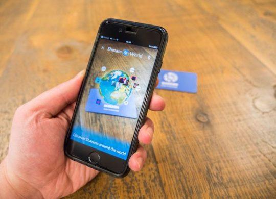 Shazam Realite Augmentee