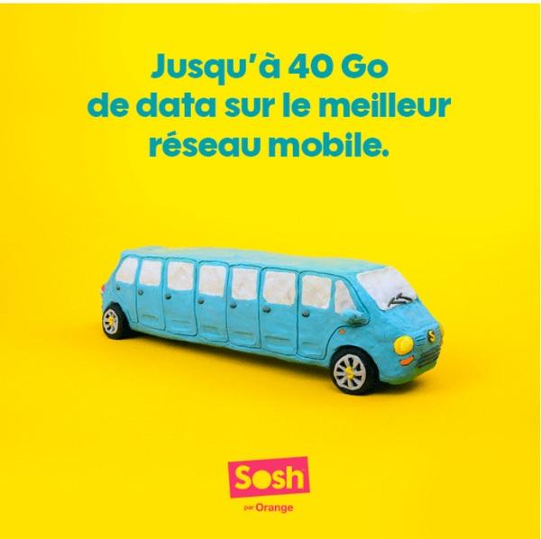 Sosh Jusque 40 Go