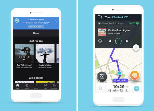 Spotify Waze Integration