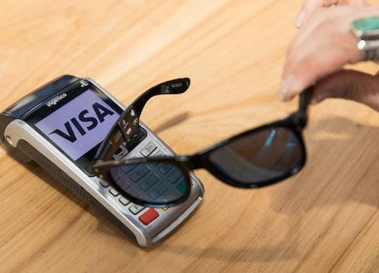 Visa Lunettes Soleil Paiement Sans Contact