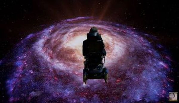 Hawking In Space 600x345