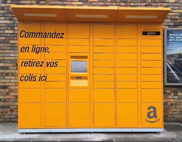 Amazon Locker France