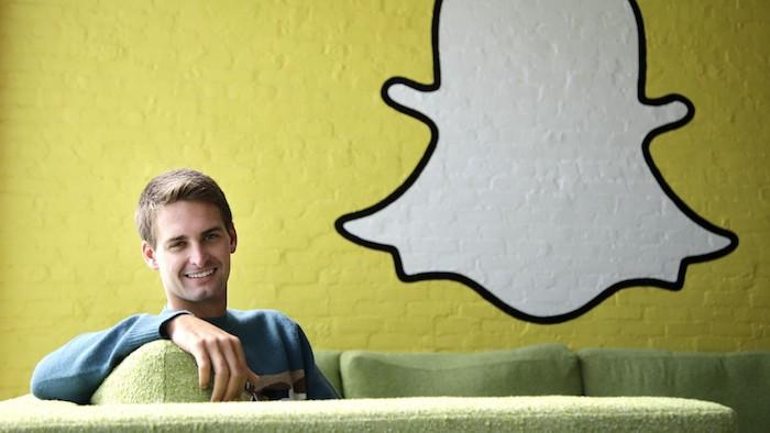Evan Spiegel Snapchat