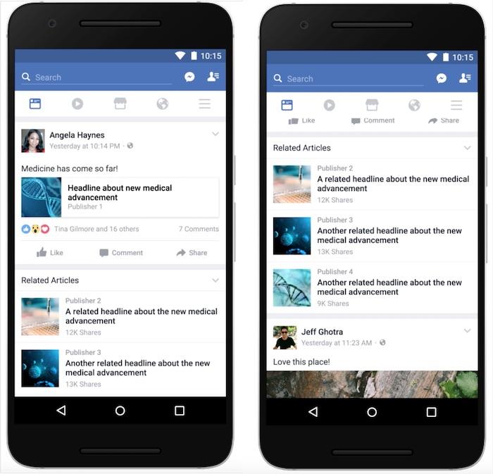 Facebook Articles Relatifs