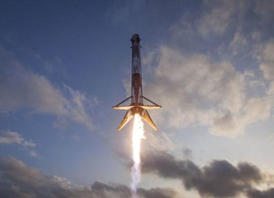 Falcon 9s atterissage