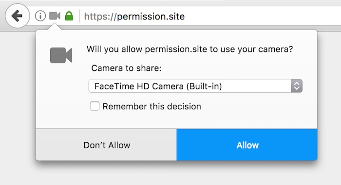 Firefox 53 Permissions Nouveautes