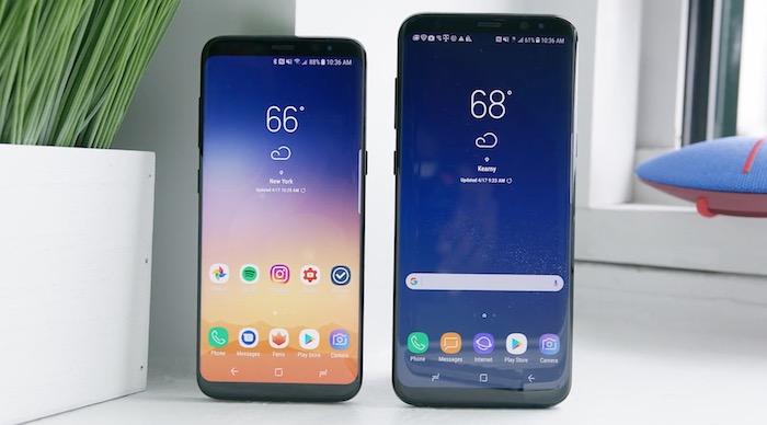 Galaxy S8 Galaxy S8 Plus Avant Ecran
