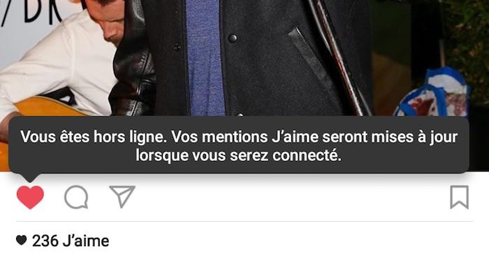 Instagram Mode Hors Ligne