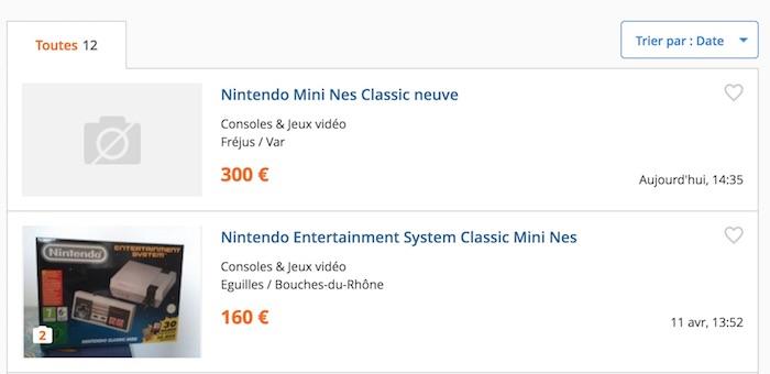 Le Bon Coin Prix Eleve NES Classic Mini