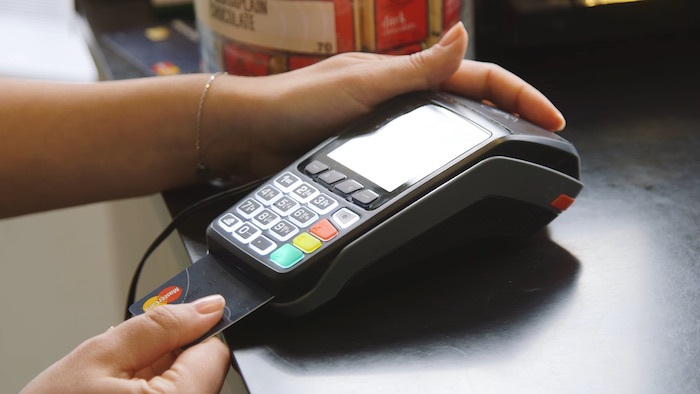 MasterCard Carte Bancaire Capteur Empreintes