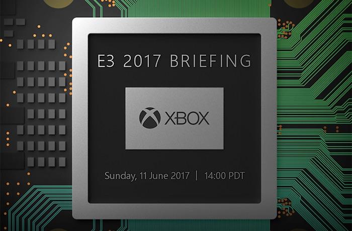 Microsoft E3 Xbox Scorpio Conference 11 Juin 2017 Invitation