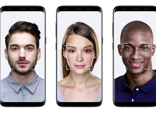 S8 reconnaissance faciale