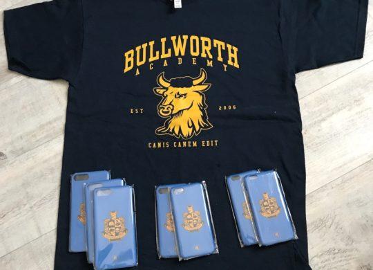 t-short Bullworth Academy+coque