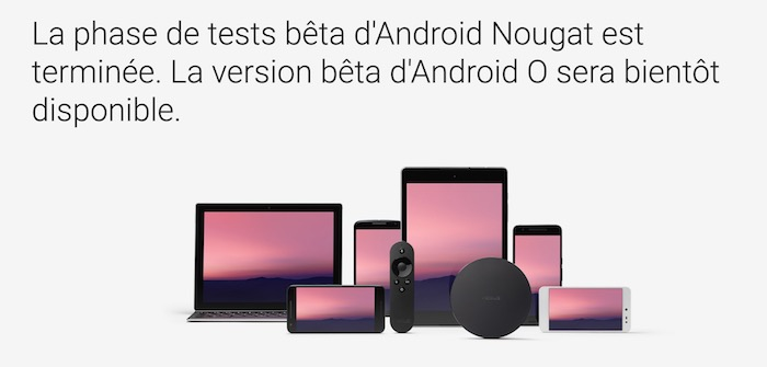 Fin Beta Android Nougat