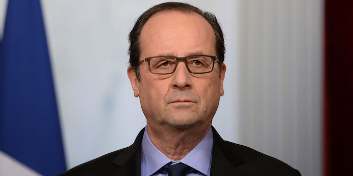 Francois Hollande Serieux