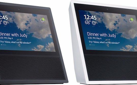 Amazon Echo Show Blanc Noir