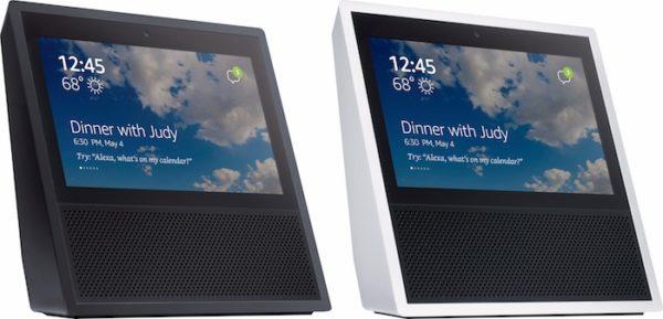 Fuite Amazon Echo Avec Ecran 600x289