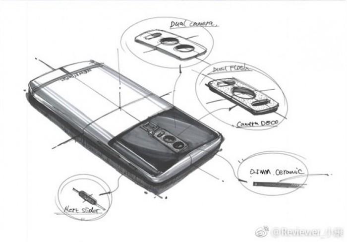 Fuite Dessin OnePlus 5