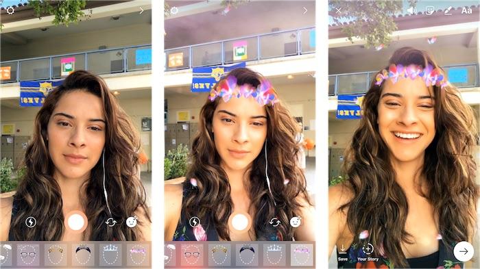 Instagram Filtres Visages