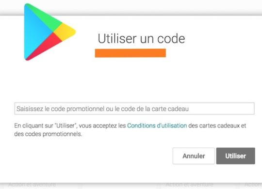 Play Store Code Promo