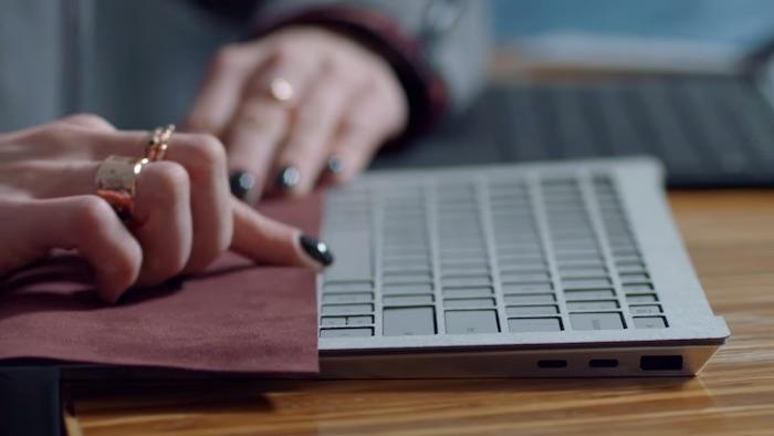 Prototype Surface Laptop USB C